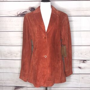 Saguaro West by Roper Rust Leather Jacket NWT